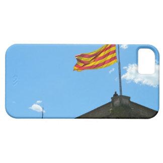 カタロニアの旗 iPhone SE/5/5s ケース