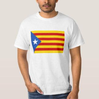 カタロニアの旗 Tシャツ