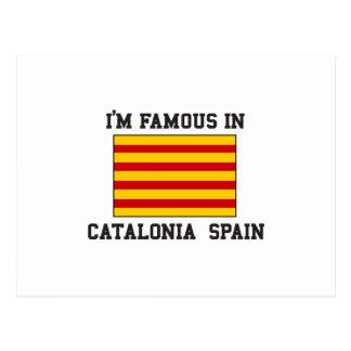 カタロニアスペインで有名 ポストカード