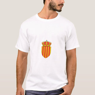 カタロニアCatalunyaのTシャツのcamiseta Catalunya Tシャツ