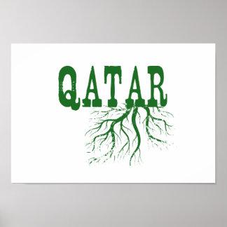 カタールの根 ポスター