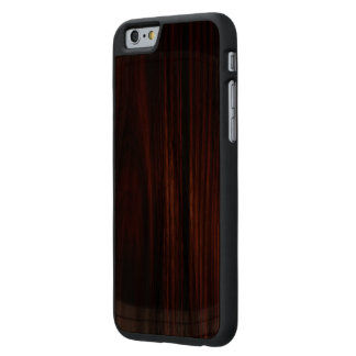 カッコいいによってニスをかけられる木製のiPhone 6の細い箱 ケース