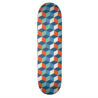 カッコいいの立方体のオップアートのスケートボード 19.7CM スケートボードデッキ