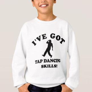 カッコいいはデザインをタップダンスします スウェットシャツ