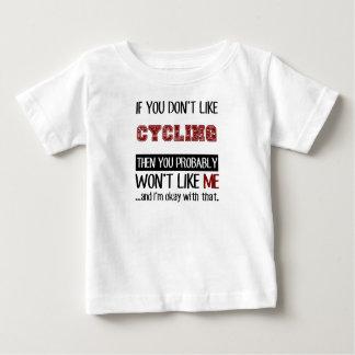 カッコいいを循環させることを好まなければ ベビーTシャツ