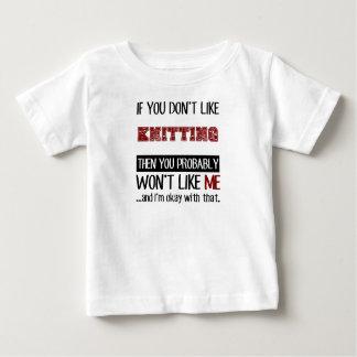 カッコいいを編むことを好まなければ ベビーTシャツ