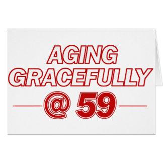 カッコいい59歳のギフト カード