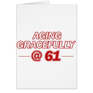 カッコいい61歳のギフト カード