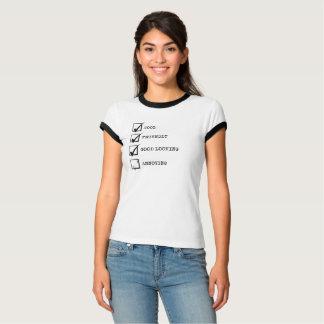 カッコいい、フレンドリー、格好良く迷惑か。 Tシャツ