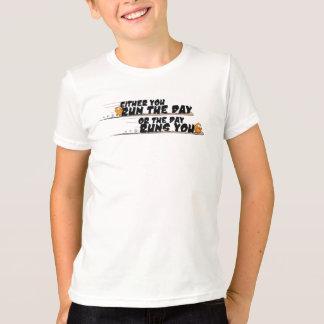 カッコいい、生意気でおよびおもしろいな引用文のTシャツ Tシャツ