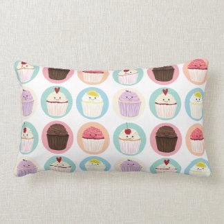 カップケーキのかわいこちゃんパターン枕 ランバークッション