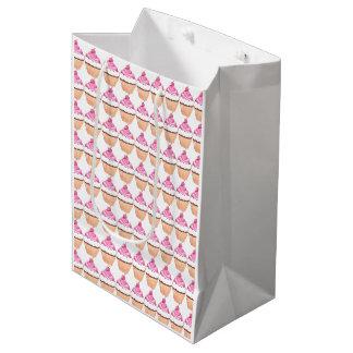 カップケーキのギフトバッグ ミディアムペーパーバッグ