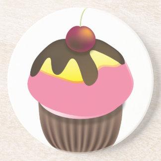 カップケーキのコースター コースター