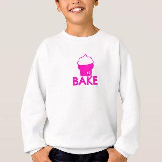 -カップケーキのデザインを焼いて下さい スウェットシャツ