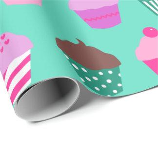 カップケーキの包装紙 ラッピングペーパー