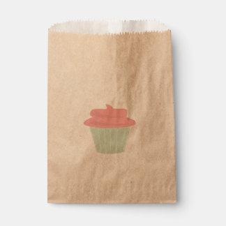 カップケーキの好意のバッグ フェイバーバッグ