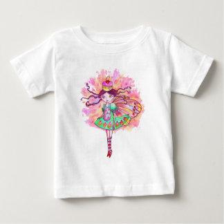 カップケーキの妖精の幼児Tシャツ-ピンクのさくらんぼの妖精 ベビーTシャツ