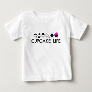 カップケーキの生命 ベビーTシャツ