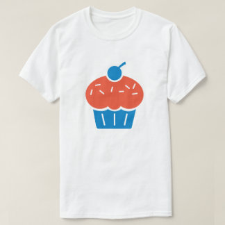 カップケーキのTシャツ(NBA、ケビン・デュラント、OKC、KD) Tシャツ