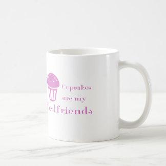 カップケーキは私のbestfriendsです コーヒーマグカップ