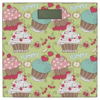 カップケーキパターン 体重計