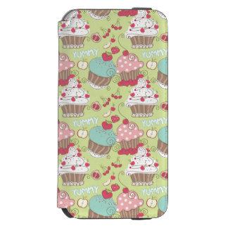 カップケーキパターン INCIPIO WATSON™ iPhone 5 財布型ケース