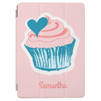 カップケーキ愛名前をカスタムする装置カバー iPad AIR カバー