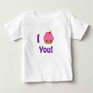 カップケーキ愛 ベビーTシャツ