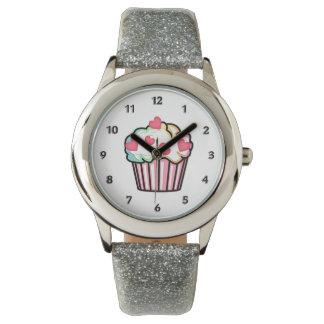 カップケーキ愛 腕時計