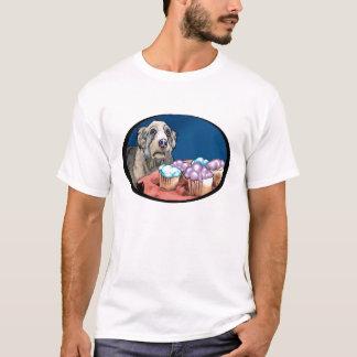 カップケーキ犬 Tシャツ