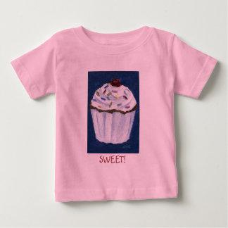 カップケーキ! ベビーTシャツ
