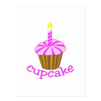 カップケーキ ポストカード