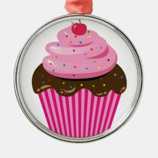 カップケーキ メタルオーナメント