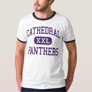 カテドラル-ヒョウ-高スプリングフィールド Tシャツ