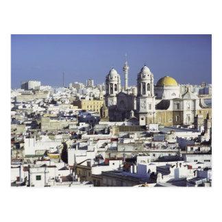 カディス、スペインの都市景観 ポストカード