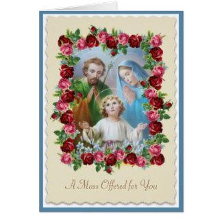 カトリック教の多くの提供カード カード