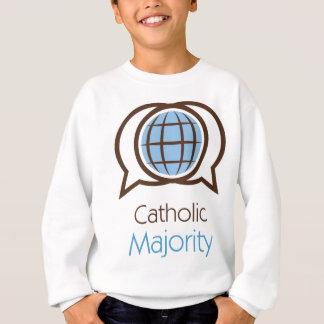 カトリック教の大半のロゴ スウェットシャツ