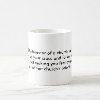 カトリック教の挑戦マグ コーヒーマグカップ