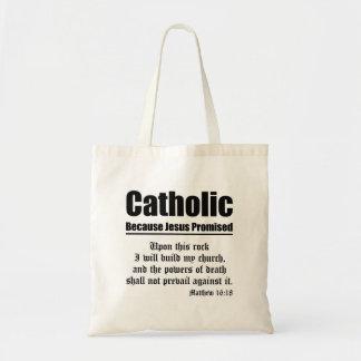 カトリック教の約束 トートバッグ