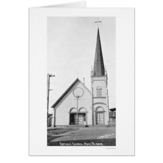 カトリック教会Nomeアラスカ1921年 カード