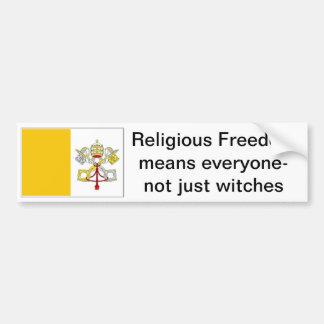 カトリック教徒のための信仰の自由 バンパーステッカー