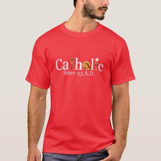 カトリック教徒33の広告のTシャツ Tシャツ