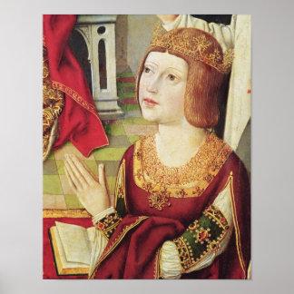 カトリック教王のヴァージン ポスター