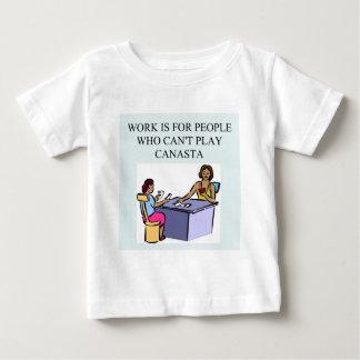 カナスタのゲームプレーヤー) ベビーTシャツ