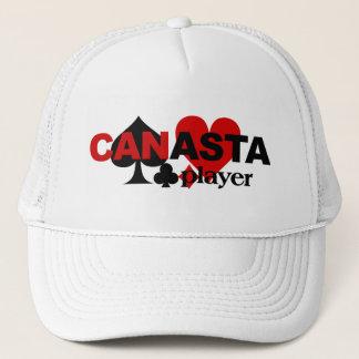 カナスタプレーヤーの帽子 キャップ