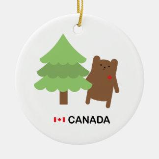 カナダくま セラミックオーナメント