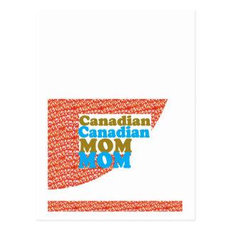 カナダのお母さんの   平和多様性の平等の歓迎 ポストカード