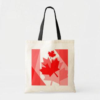 カナダのアメリカハナノキの葉によって層にされるスタイルカナダ トートバッグ
