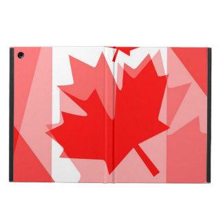 カナダのアメリカハナノキの葉によって層にされるスタイルカナダ iPad AIRケース