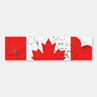カナダのアメリカハナノキの葉のカナダの皮のペンキは見ます バンパーステッカー